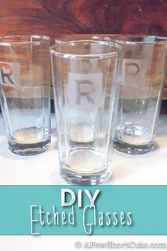 76 Crafts To Make and Sell - Easy DIY Ideas for Cheap Things To Sell on Etsy, Online and for Craft Fairs. Make Money with These Homemade Crafts for Teens, Kids, Christmas, Summer, Mother's Day Gifts.   DIY Etched Glass   diyjoy.com/crafts-to-make-and-sell