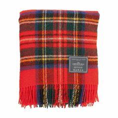 Johnstons of Elgin Royal Stewart Cheviot Tartan Rug  £45.00