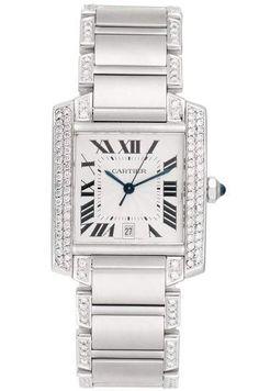 64e938ea460 Relógio Cartier™ – Tank Anglaise Grand – Misto – Réplica Premium AAA+