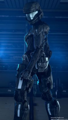 Sergeant Kendra Salem, Callsign: Panther, takes weapon maintenance very seriously. Made with SFM and GIMP Check me out on Patreon! Mode Cyberpunk, Cyberpunk Girl, Halo Reach, Iron Maiden, Foto Batman, Odst Halo, Arcee Transformers, Halo Game, Halo 3