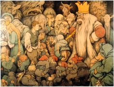 Theodor Kittelsen illustration