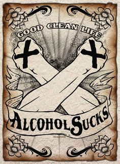 Straight edge poster by tizar on deviantART