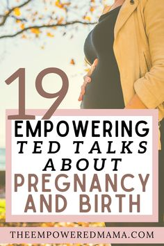 TED Talks are designed to inspire and help you think differently about a wide range of topics - pregnancy and birth included! We scoured them all and created this playlist of empowering TED Talks about pregnancy and birth, just for you! Pregnancy First Trimester, Second Pregnancy, Second Trimester, Pregnancy Tips, Ted Talks, Birth, Challenges, Just For You, Parenting