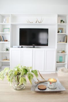 DIY IKEA Hack Built-Ins