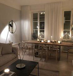 Room Interior, Home Interior Design, Interior Architecture, Le Palace, Minimalist Room, Dining Room Design, Cozy House, Home And Living, Living Room