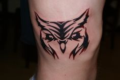 tribal owl tattoo images | Tribal Owl - By William L. by SmilinPirateTattoo on deviantART