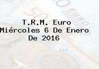 http://tecnoautos.com/wp-content/uploads/imagenes/trm-euro/thumbs/trm-euro-20160106.jpg TRM Euro Colombia, Miércoles 6 de Enero de 2016 - http://tecnoautos.com/actualidad/finanzas/trm-euro-hoy/trm-euro-colombia-miercoles-6-de-enero-de-2016/