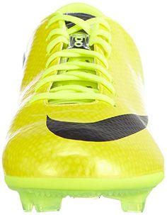 b82963ec428 Nike Mens Mercurial Vapor IX FG Vibrant YellowBlackNeo Lime 115 -- You can  get more details by clicking on the image.