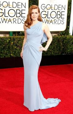 Short stars stand tall on the red carpet at the 2015 Golden Globes: Amy Adams at the 2015 Golden Globes