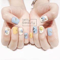 Shoe Nails, Diy Nails, Korean Nail Art, Nail Art Designs Videos, Nail Pictures, Modern Nails, Short Nails Art, Crazy Nails, Cute Acrylic Nails