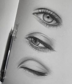 eye drawings and sketches