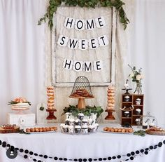 Home sweet home housewarming partyhousewarmingnew homefirst time home ownerour first homekey toppershouse warmingparty decor & Housewarming Party Ideas | Pinterest | Housewarming party House ...
