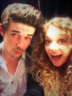 Carrie Hope Fletcher & Pete Bucknall as Rapunzel and Flynn