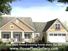 ▶ Small Unique House Plans by HousePlanGallery.com - YouTube