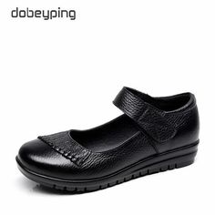 31c59c4561d New Handmade Genuine Leather Women s Ballet Flat Shoes Female Casual  Loafers Woman Comfortable Car-Styling