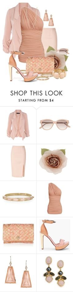 """""""Meeting Up"""" by rockreborn ❤ liked on Polyvore featuring Dorothy Perkins, Witchery, Emilio Pucci, Alexander McQueen, Norma Kamali, Dolce&Gabbana, Sabine, Lanvin, Irene Neuwirth and Kara Ross"""