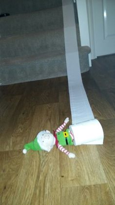 Classic loo roll downstairs!