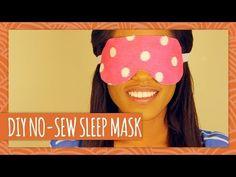 ▶ DIY No-Sew Sleep Mask - HGTV Handmade - YouTube