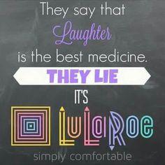 Lularoe is the best medicine! #TrinityLuLaRoe #LuLaRoeJaimeThomas
