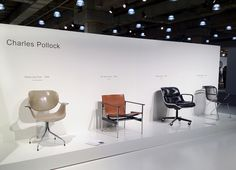 The Bernhardt Design booth at the 2012 International Contemporary Furniture Fair in New York City.