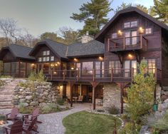 Rustic Walkout Bungalow Design, Pictures, Remodel, Decor and Ideas - page 17