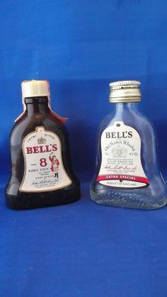 Bell's Miniature Liquor Bottle (Mini Scotch Whiskey Alcohol Bottles, Bells)