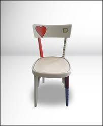 Risultati immagini per sedie decorate