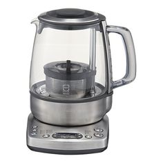 This is the ultimate must have for tea lovers.  I want this!  Finally a product for tea drinkers that will steep any type of tea to perfection. A kettle and brewer in one!  I want I want I want....