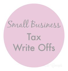 Small Business Tax Write Offs | Imperfect Concepts GetSkinnyWithSheila.info