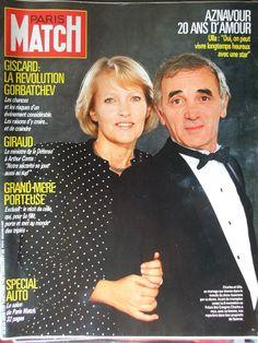 Ulla Thorsell et Charles Aznavour