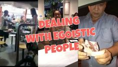 Dealing with Egoistic People