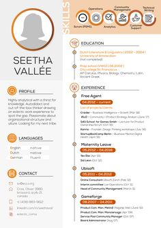 The best resumes are infographic resumes that are customized and detailed. Infographic Resume, Infographics, Ap Calculus, City College, Prep School, Best Resume, Resume Design, Service Design, Chemistry
