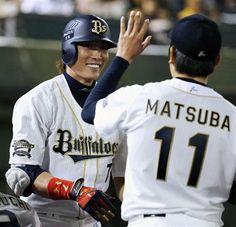 Yoshio Itoi and Takahiro Matsuba (Orix Buffaloes)