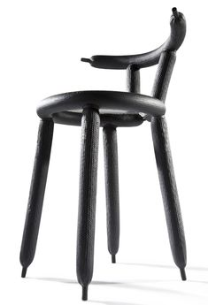 Dutch designer Marcel Wanders created an ultra-lightweight carbon fibre chair formed around party balloons.