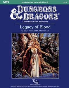 CM9 Legacy of Blood (Basic) - Wizards of the Coast | D&D Basic | Adventure Modules | D&D Basic | RPGNow.com