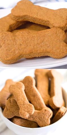 Your dog will love these easy homemade dog treats!!
