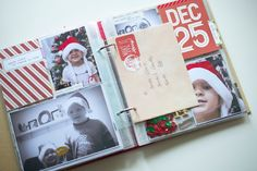 December Daily 2016 - Hey Little Magpie Christmas Journal, Christmas 2017, Mini Albums, Simple Stories, December Daily, Holiday Wishes, Project Life, Card Making, Merry
