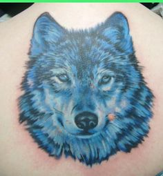 Wolf-Tattoo-for-Back