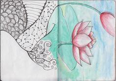 Kelli Cody's pages 10-11 of sketchbook