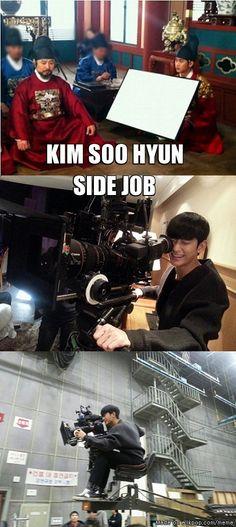 KIM SOO HYUN SIDE JOB