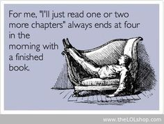 Yep. Unless it's a text book. Those work better than sleeping pills!
