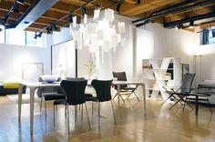 Luminaire's Chicago showroom