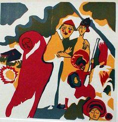 Wassily Wassilyevich Kandinsky | All Saints Day