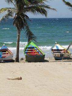 Isla Margarita. Venezuela Venezuela Beaches, Places Around The World, Around The Worlds, Wonderful Places, Beautiful Places, Caribbean Sea, Beach Scenes, West Indies, Holiday Destinations