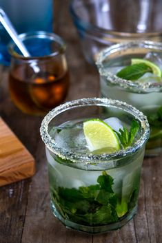 Mojitos Recipe.  Love, love, love mojitos. #coctails