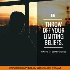 Throw of your limiting beliefs. #lifeofnolimits #feelalive #lifecoach #mentor #mindset #nlp #personaldevelopment #beyou #behappy #bestself #bestlife #achievegoals #success