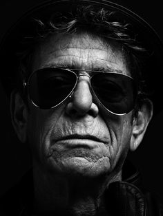"Lou Reed's last sitting, photo by Hedi Slimane, September 2013. ""Legends of Punk"" essay by Legs McNeil for V85. -  R.I.P."