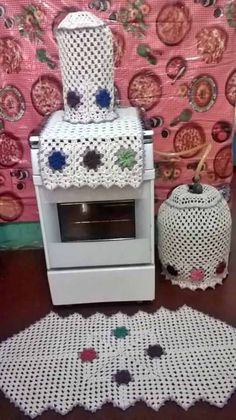Tapetes de Barbante conjunto de cozinha com bujão e filtro