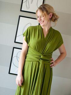 Infinity Wrap Dress DIY