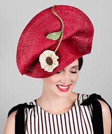 Fashion hat Mars, a design by Melbourne milliner Louise Macdonald